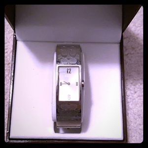 Stainless steel Coach watch!